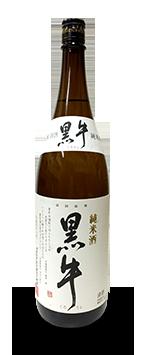 黒牛純米酒1.8リットル画像