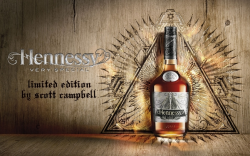 HENNESSY V.S LIMITED EDITION BY SCOTT CAMPBELL ~ヘネシー V.S リミテッドエディション by スコット・キャンベル~